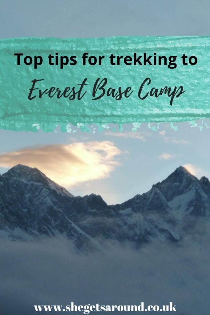 Top tips for Everest Base Camp Trek