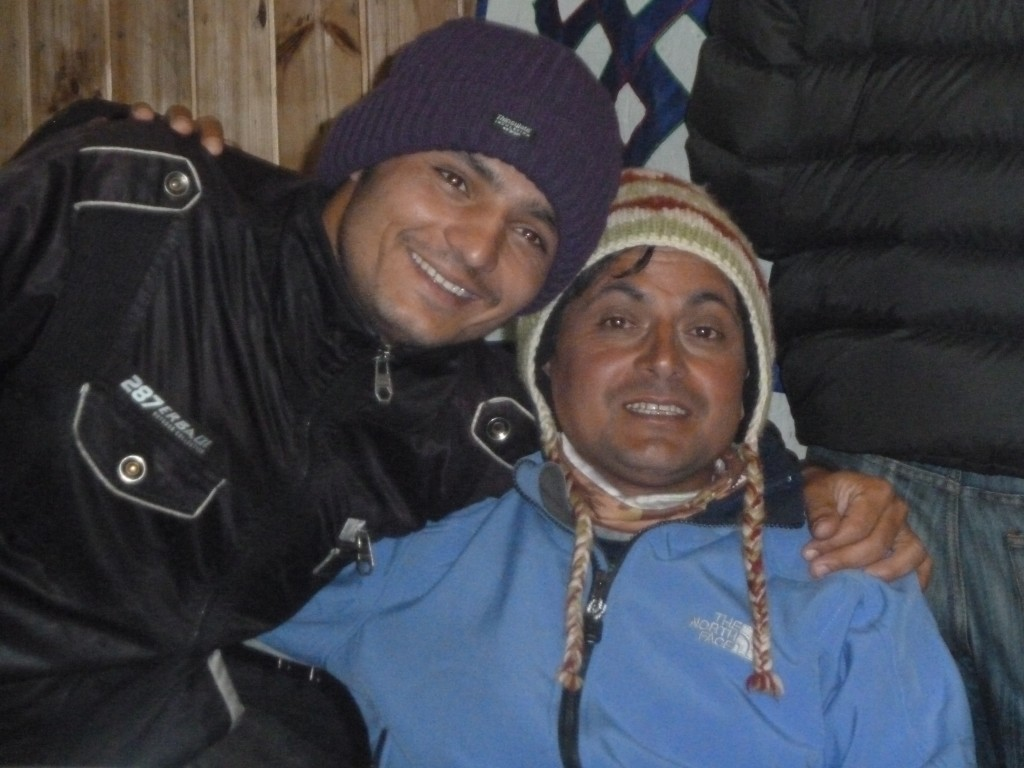 Everest Base Camp Trek - our two guides from Nepal Encounters Travel