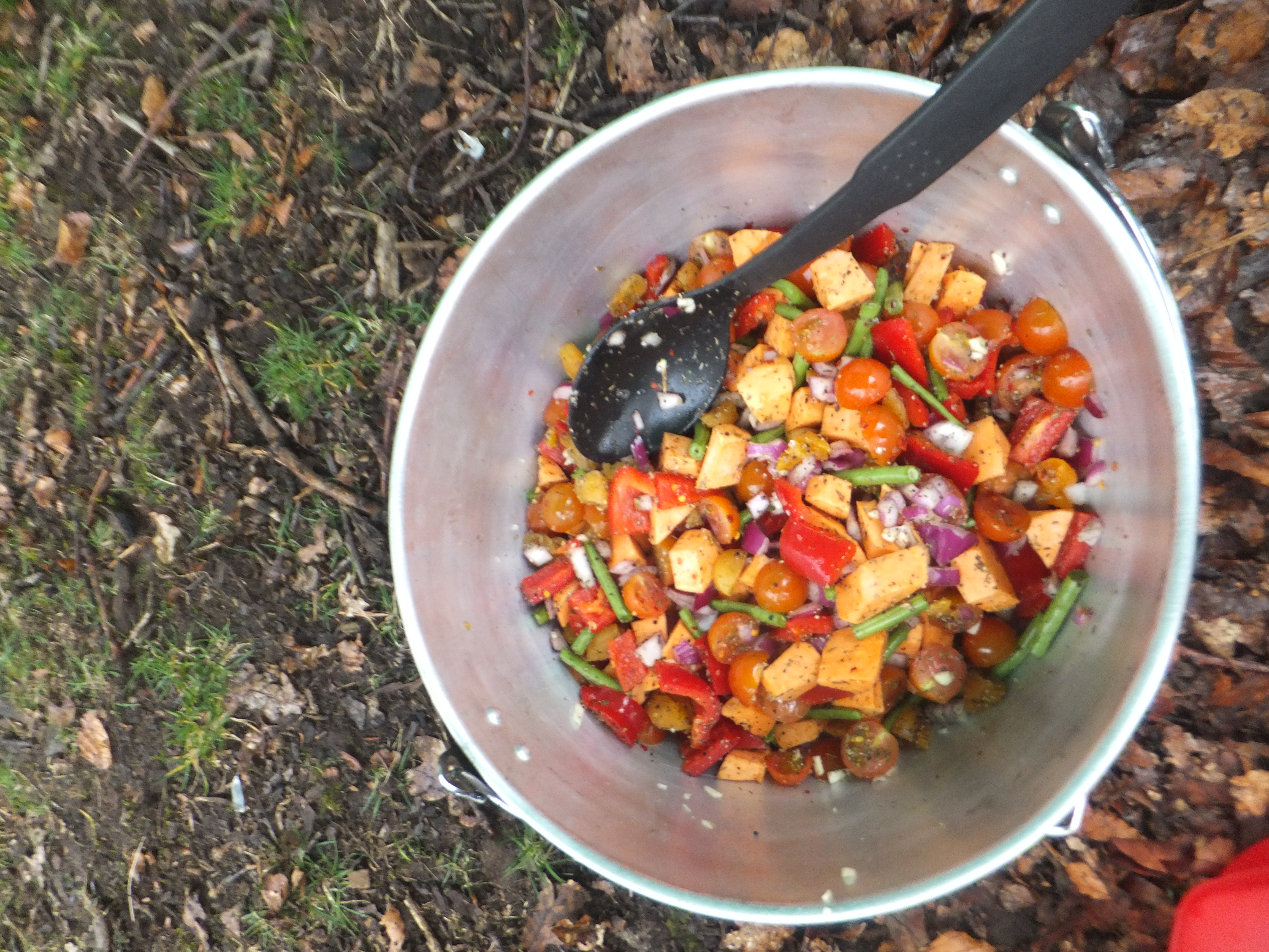 luxury camping food - the Lake District