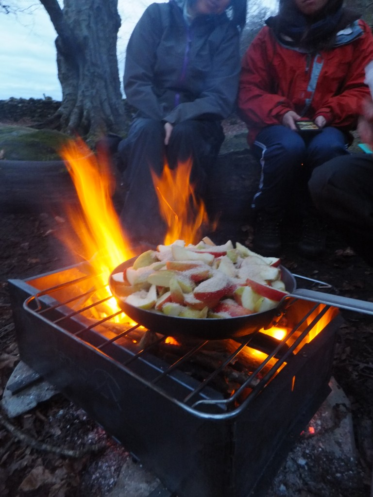 luxury easy camping food