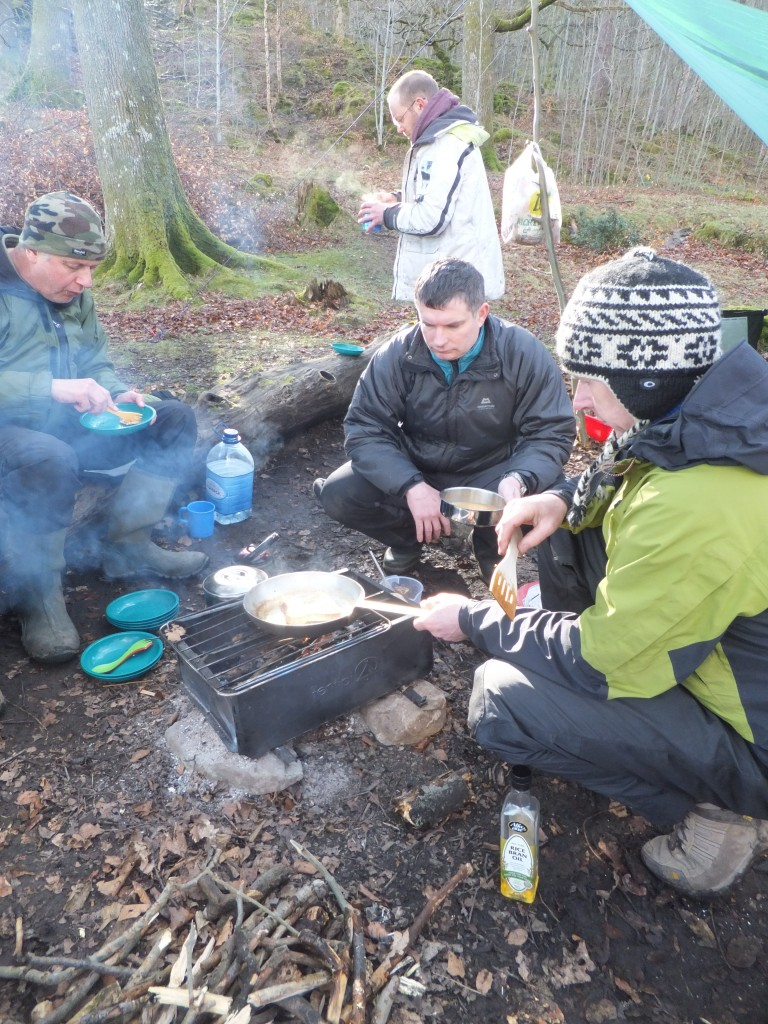 camping food - the Lake District