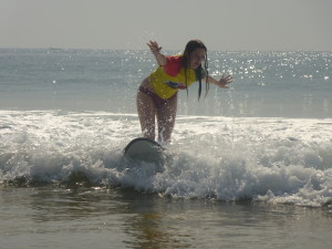 Yup... that's me surfing! :)