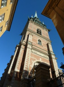 Beautiful buildings of Stockholm