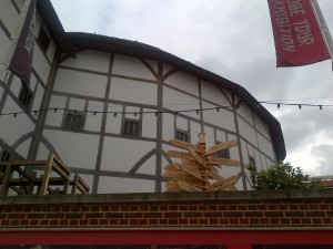 Shakespeare's Globe along the Soutbank