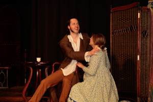 A incredibly believable blind Mr Rochester