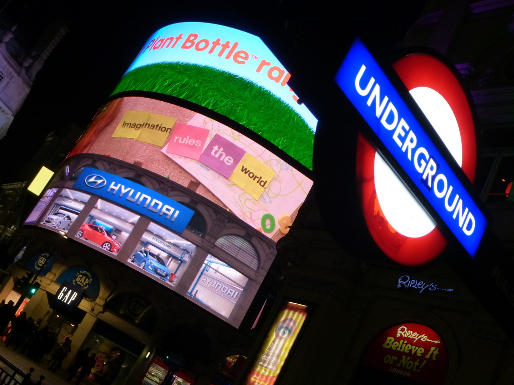 London underground Leicester Square
