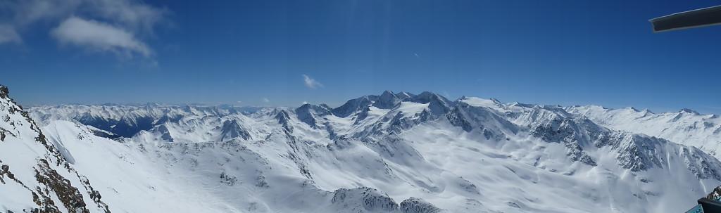 Panoramic views at Obergurgl