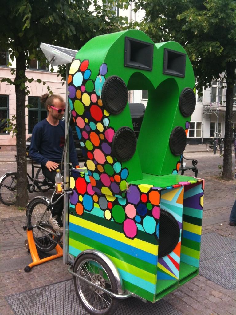 #2 My Favourite kind of Green. Eco stereo bike