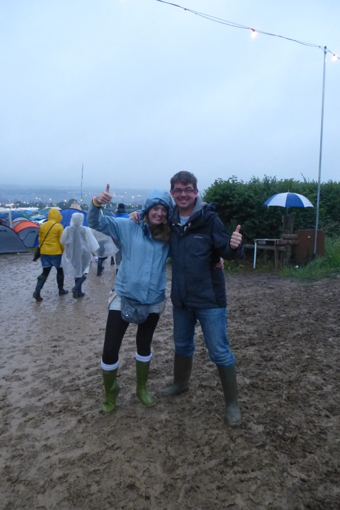 Got to have a bit of mud at Glasto