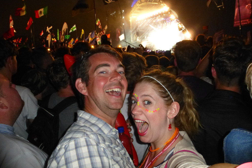 Fun times with The Rolling Stones at Glasto