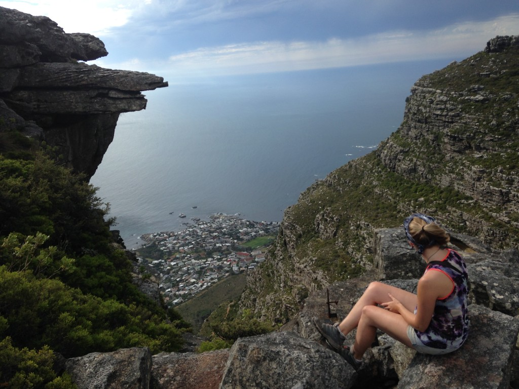 Table Mountain trekking in South Africa