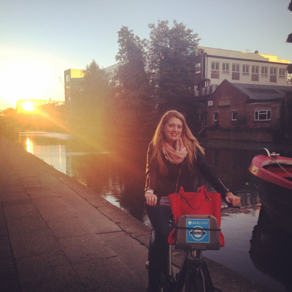 cycling regents canal
