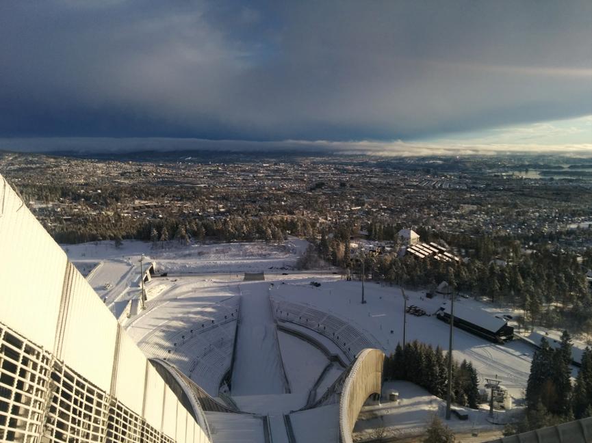 ski jump Oslo