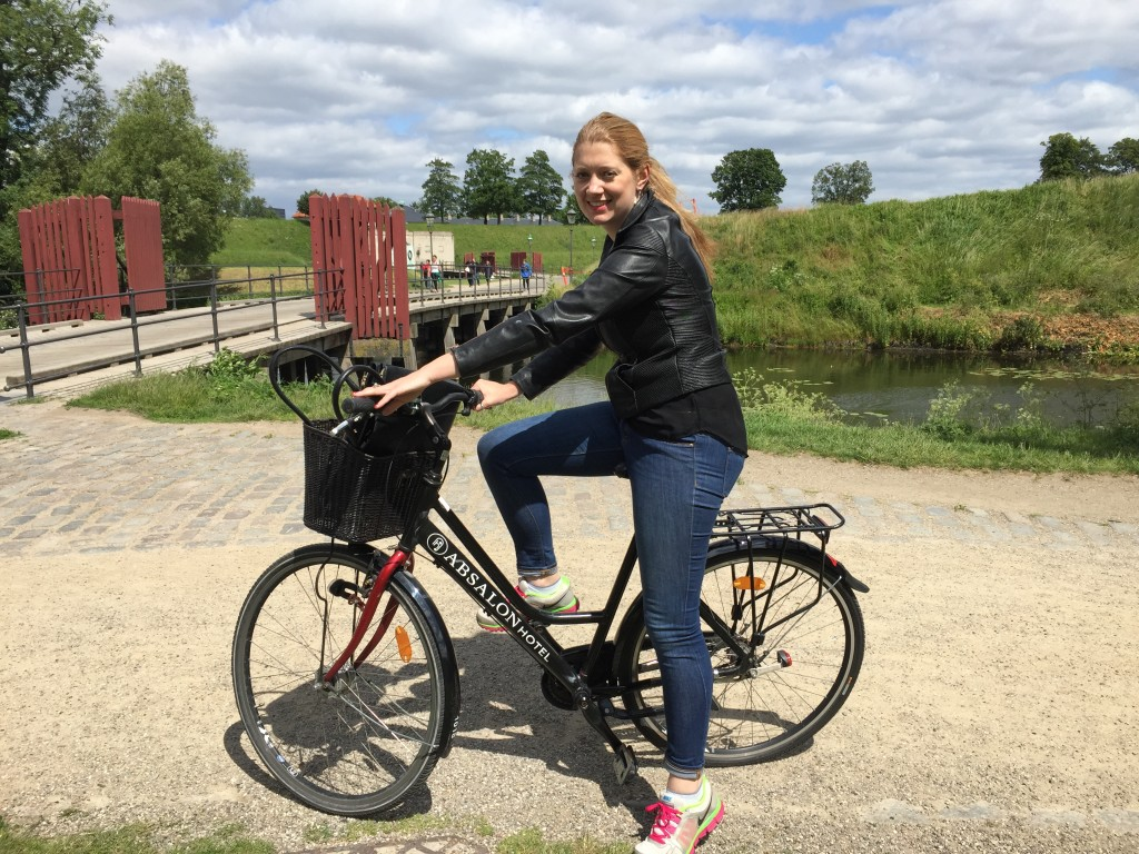 cycling in Copenhagen