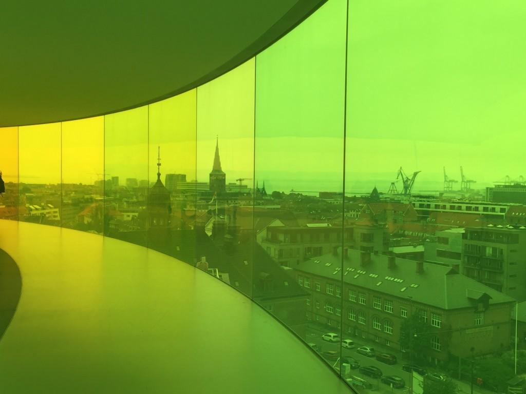 Aros rainbow yellow
