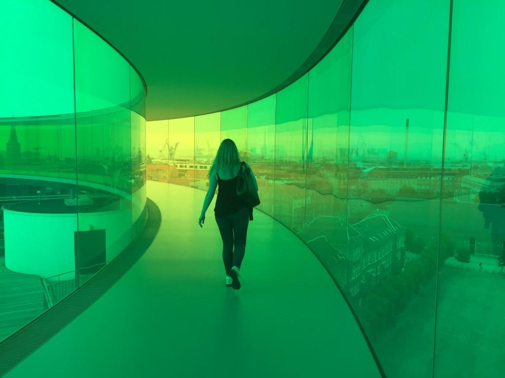 aros rainbow panorama green