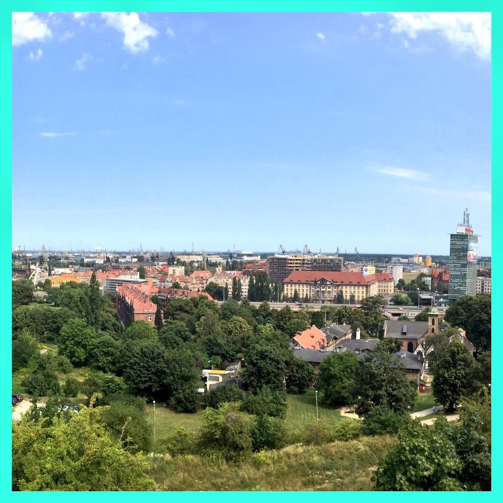 views over Gdansk