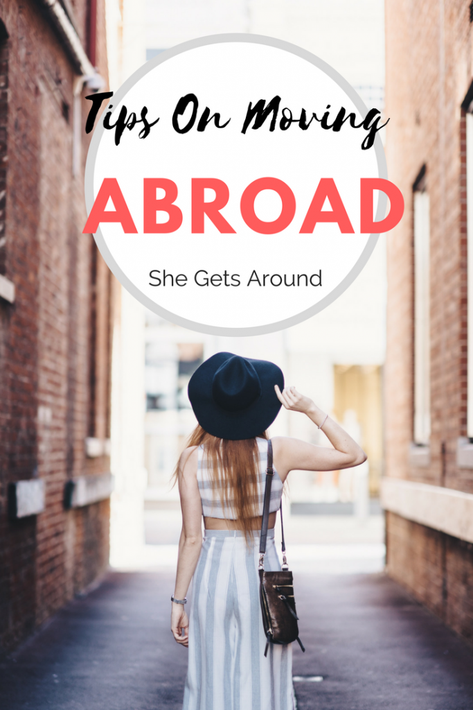 travel blogger tips moving abroad