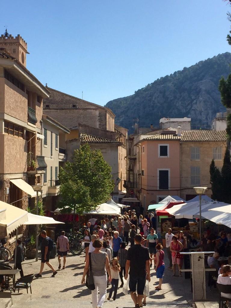 Pollenca market, Mallorca