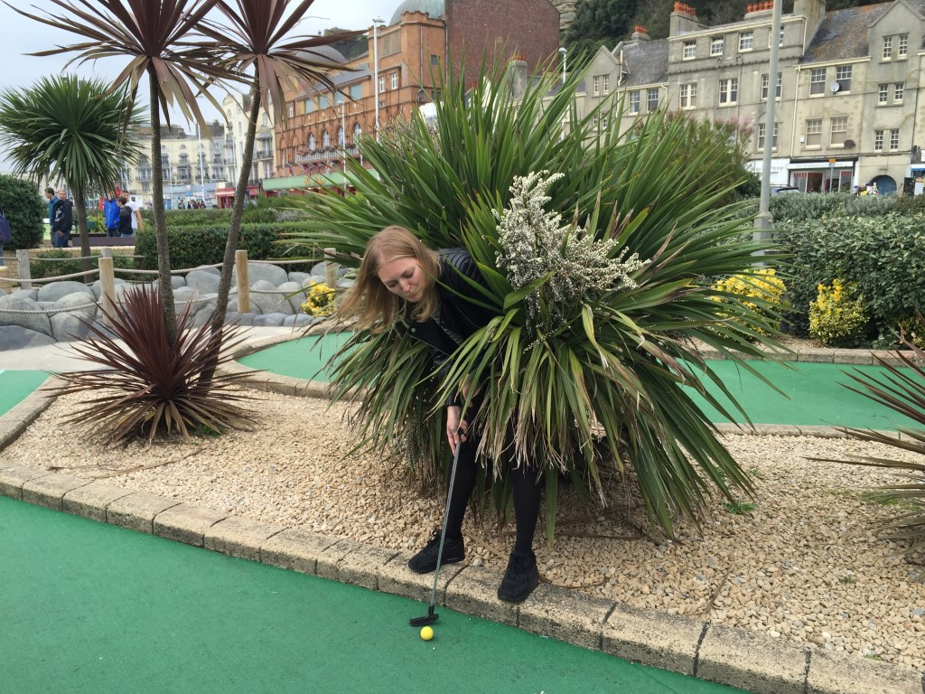 adventure golf, Hastings