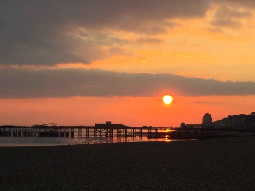 Hastings sunset