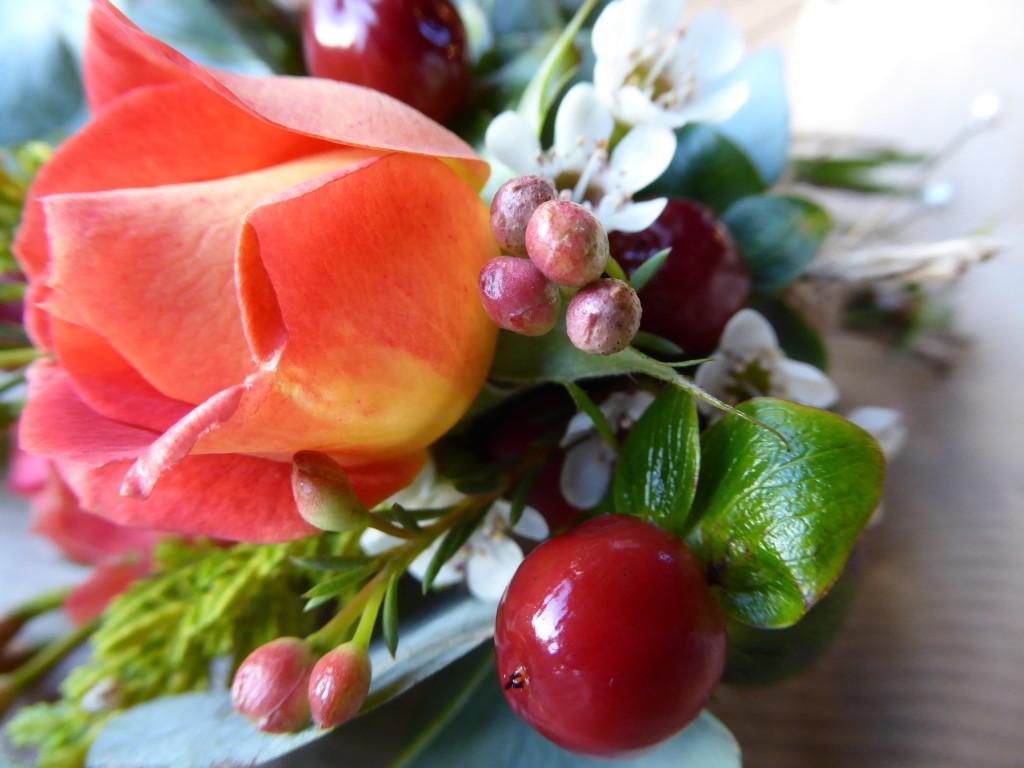 wedding flowers, Derbyshire