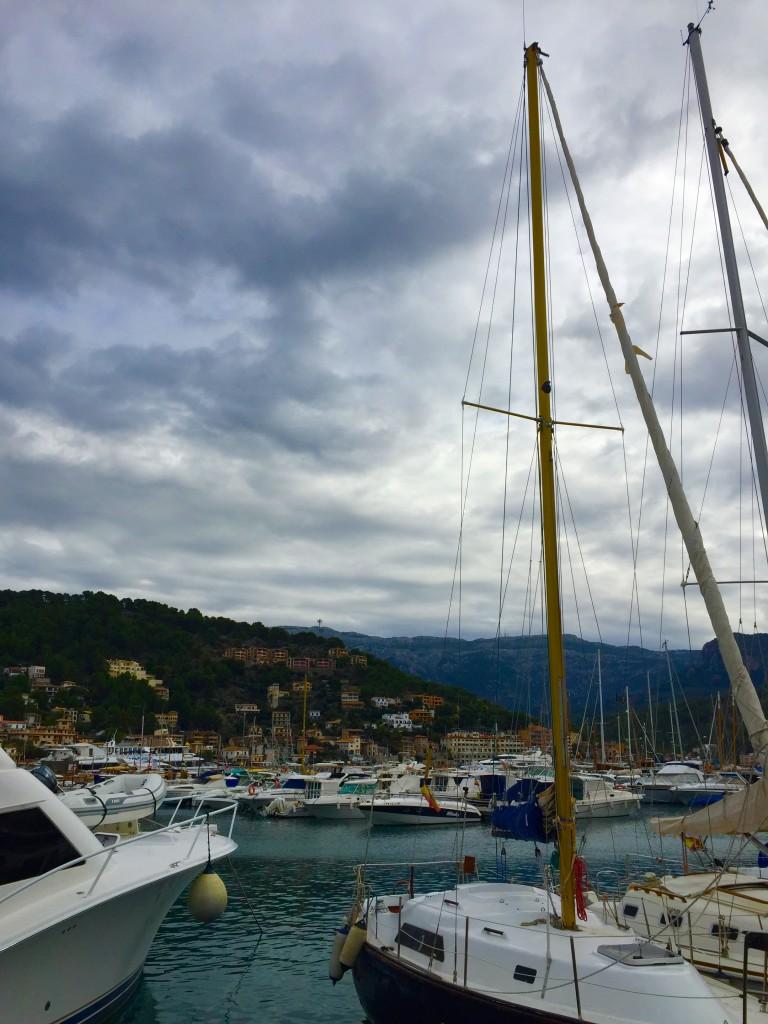 Port de Soller, Mallorca in winter