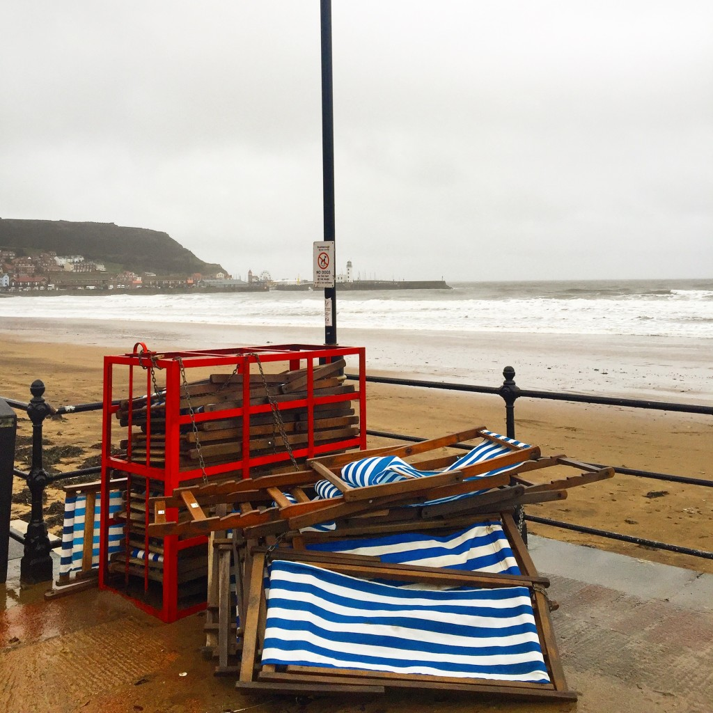 Scarborough in winter