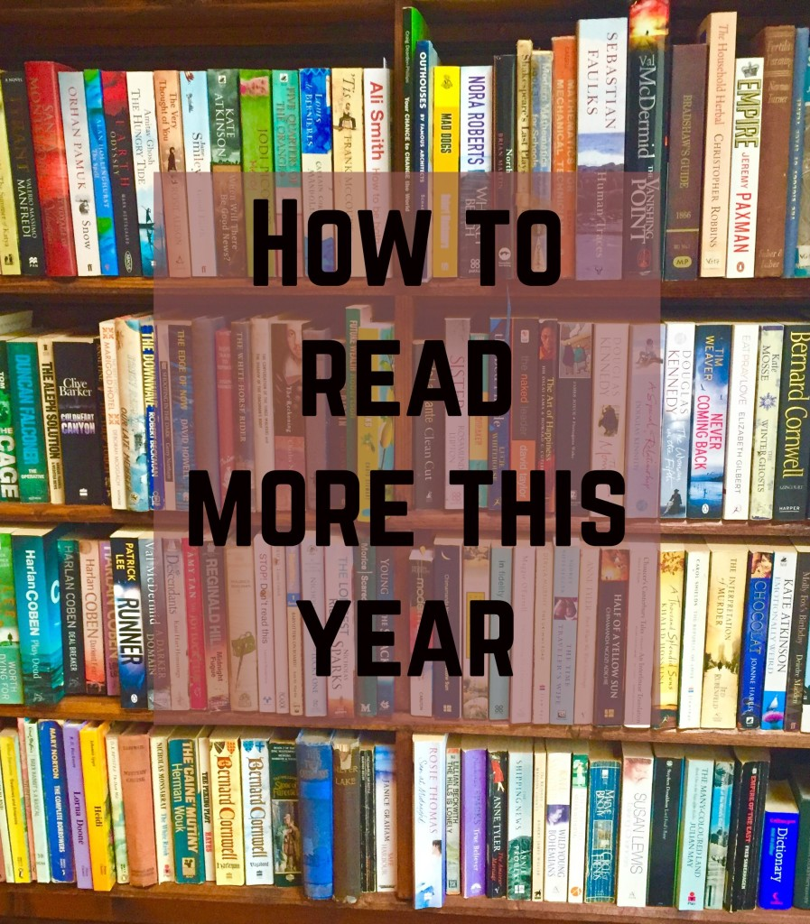 how to read more this year