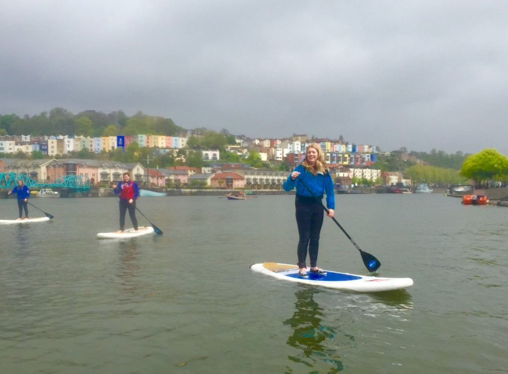 Sup Bristol, Paddle boarding