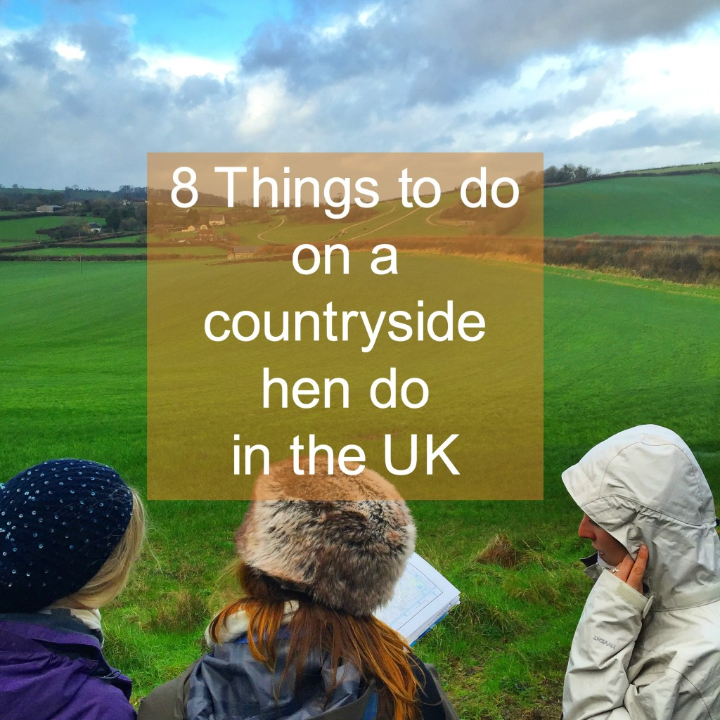 8 things to do on a countryside hen do in the uk