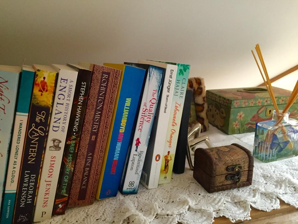 bookcase books