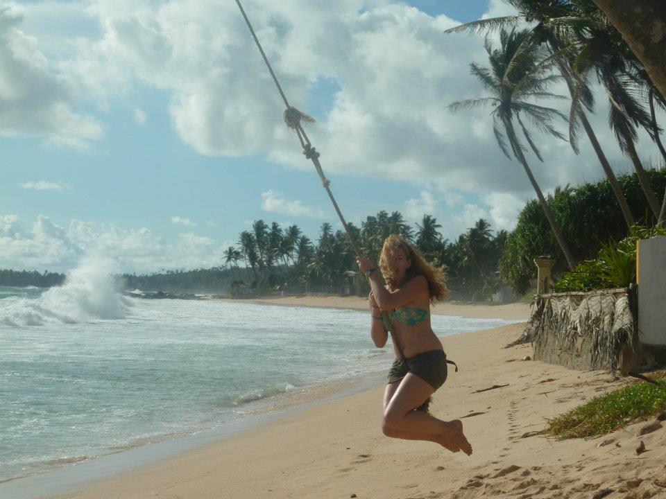 tree swing in Sri Lanka