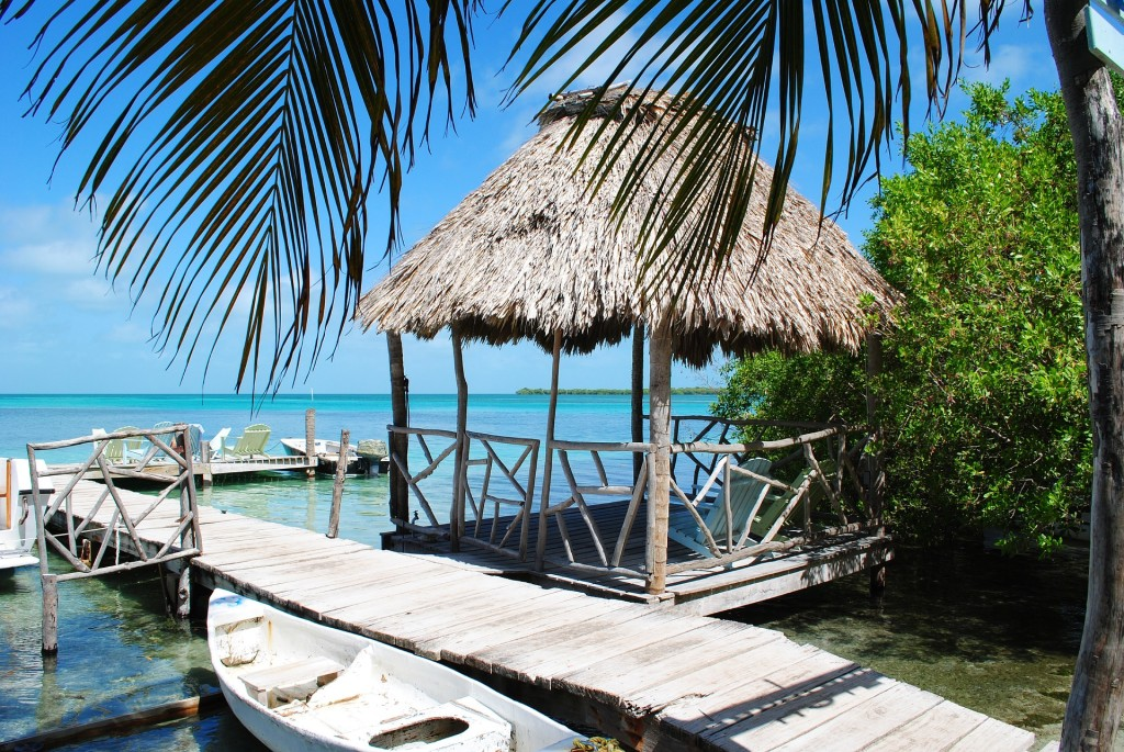 Belize beach hut