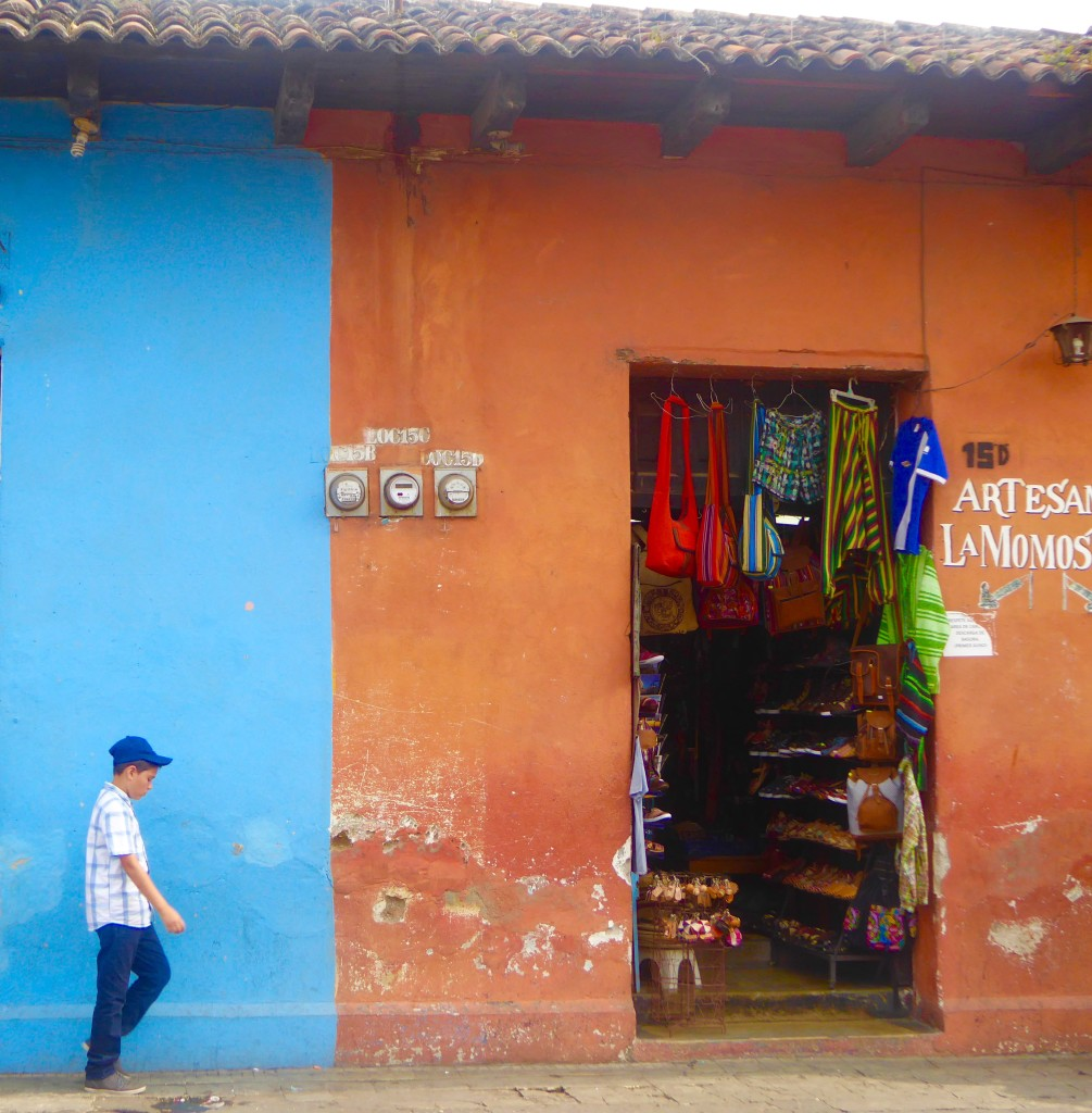 colourful walls of Antigua Guatemala