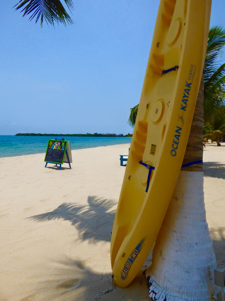 Placencia beach in Belize
