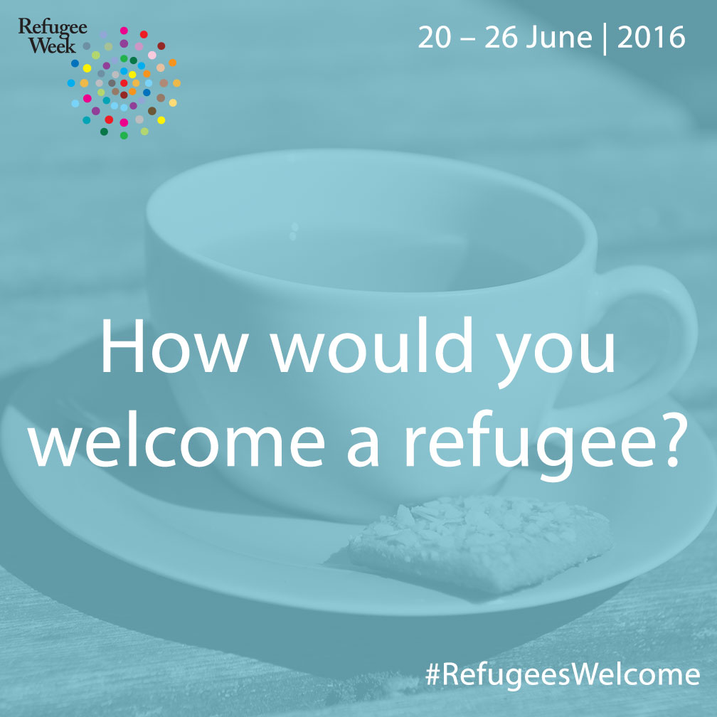 #RefugeesWelcome