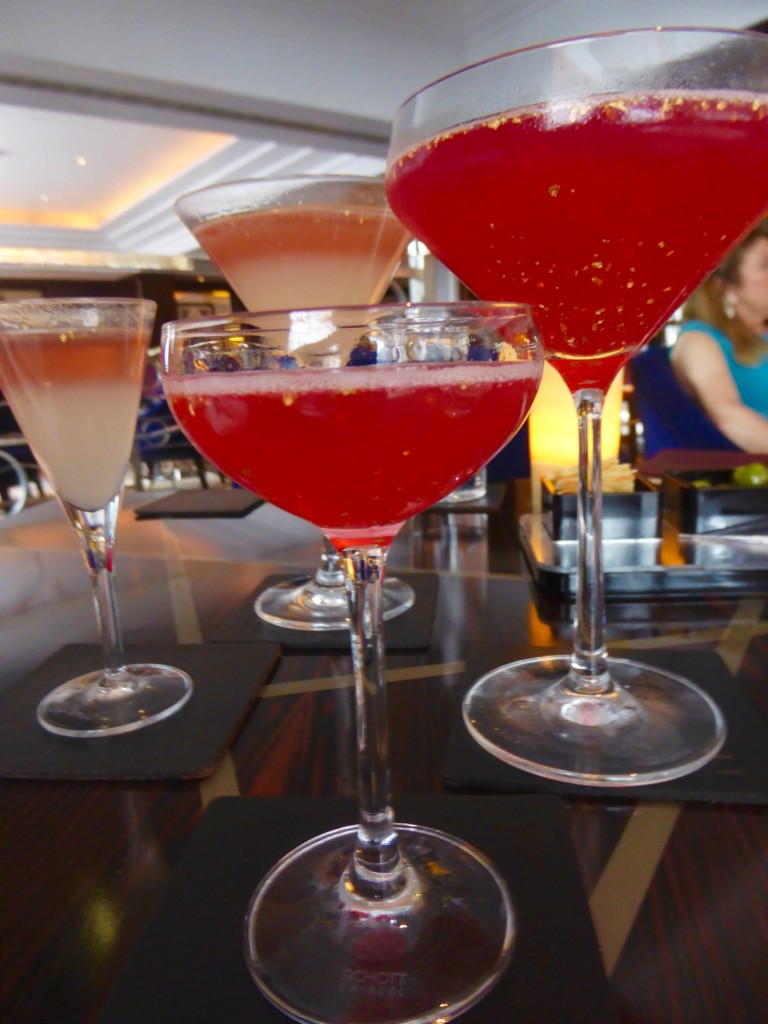cocktails at The Polo Bar, Westbury, London