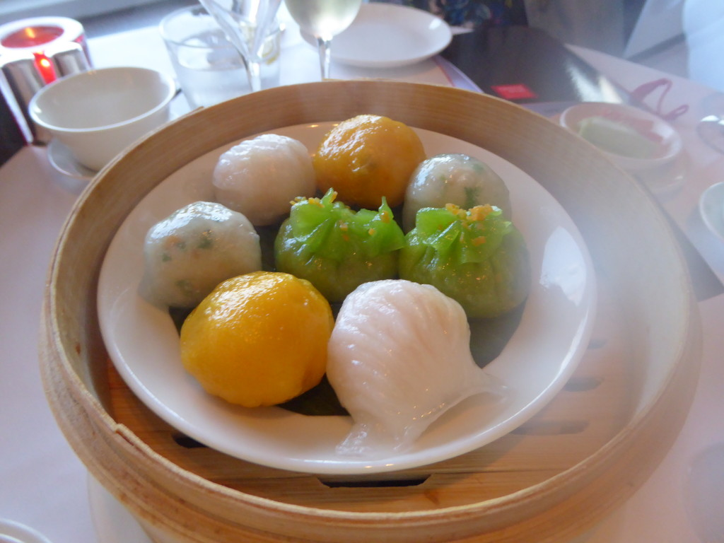 dim sum at Min Jiang restaurant, London