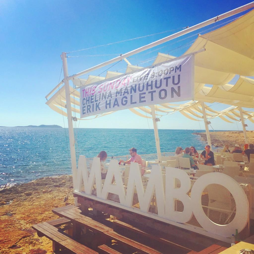 sunset at Cafe Mambos Ibiza