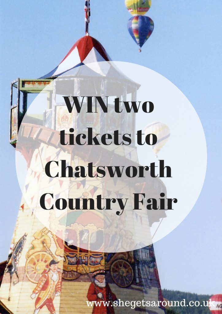 WIN two tickets to Chatsworth Country Fair