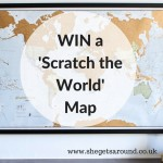 Win a 'Scratch the World' map