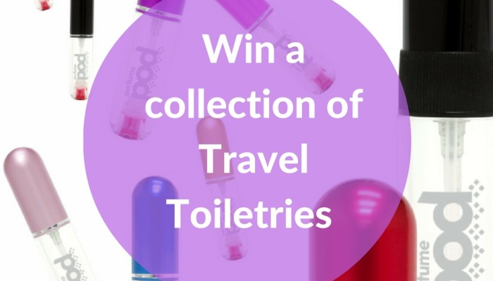 Win a collection of Travel Toiletries
