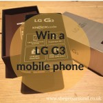 win an LG G3 mobile phone