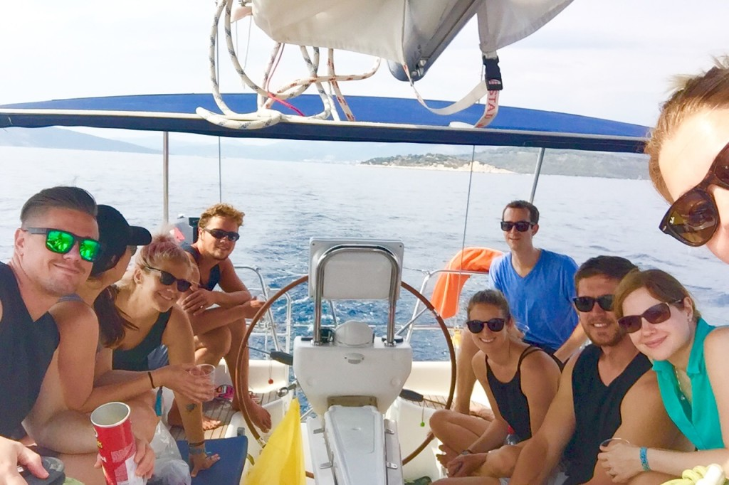 Sailing with Medsailors in Croatia