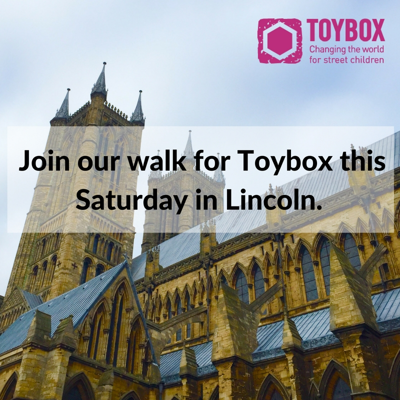 Lincoln Toybox walk