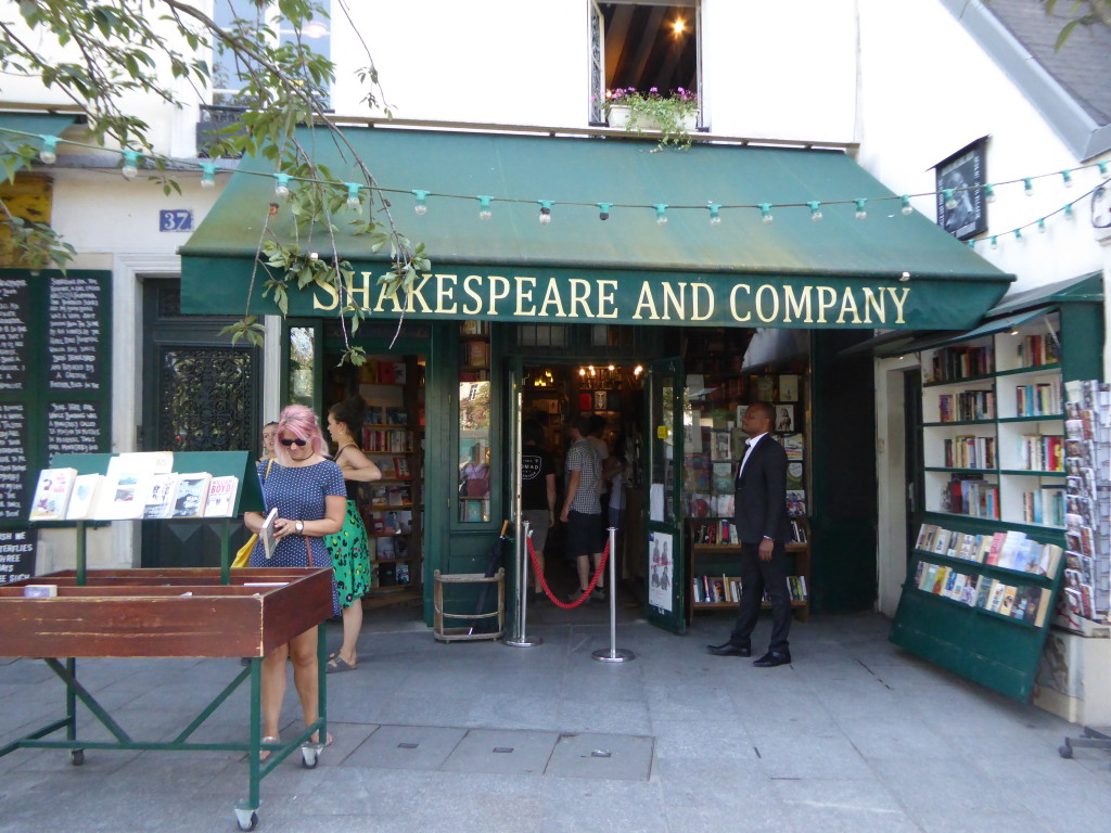 Shakespeare and Company bookshop Paris