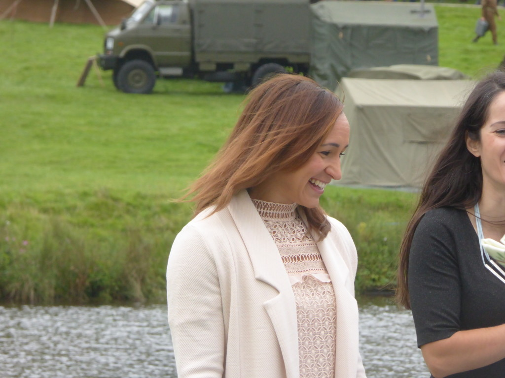 Jess Ennis Hill at Chatsworth show