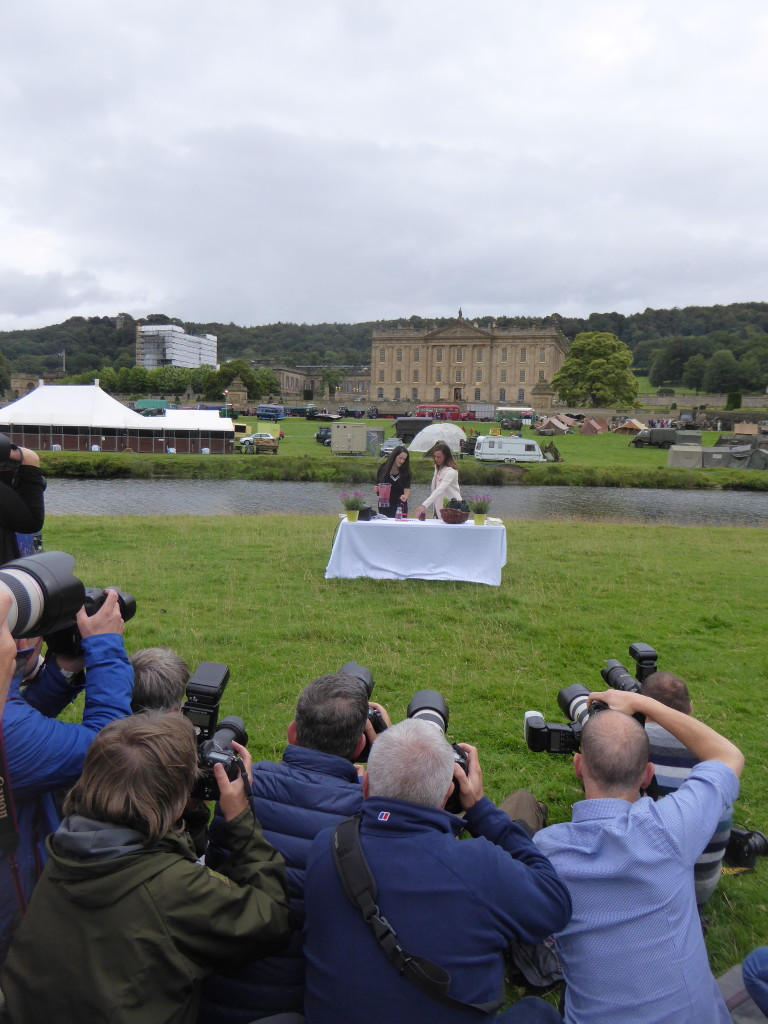 paparazzi at Chatsworth Country Show