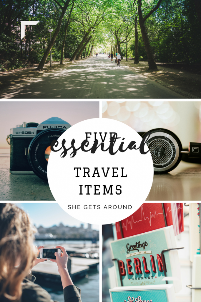 travel item essentials from a travel blogger